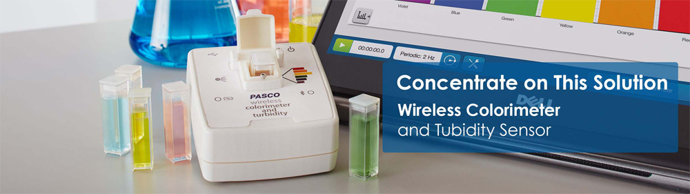 Wireless Colorimeter And Turbidity Sensor